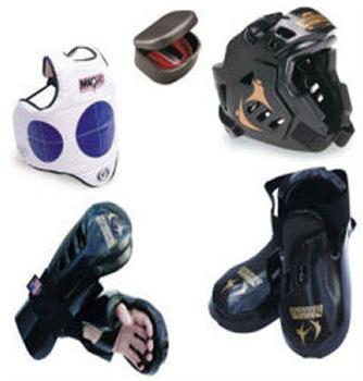 Warrior Full Sparring Gear Set